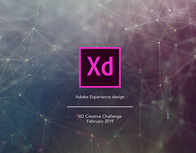 Adobe XD Creative Challenge February 2019 collection