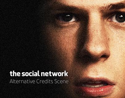 The Social Network Alternative Credits Scene