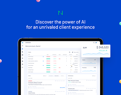 Vise AI: Creating personalized portfolio