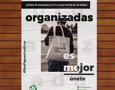 Organizadas es mejor