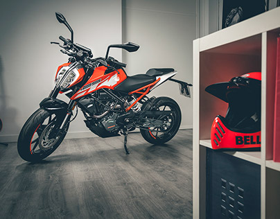 KTM 125 Duke 2017 Photoshoot