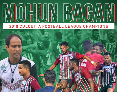 Mohun Bagan Culcutta Football League SMM
