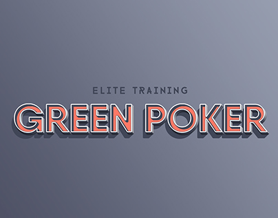 Green Poker (Identidade Visual) 46cbdb16cb1