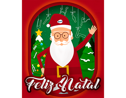 Post de Natal - Blukit