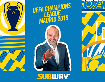 Subway - UEFA Champions League Madrid 2019