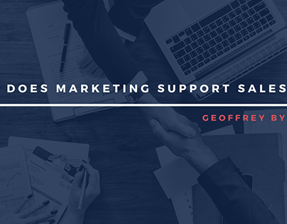 How Does Marketing Support Sales?