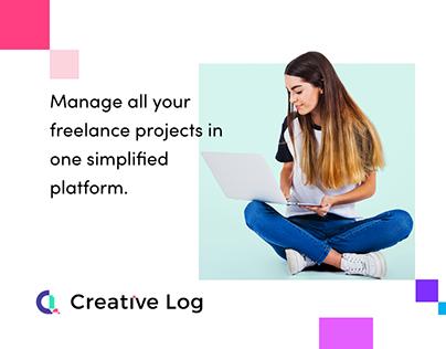 Creative Log - The Landing Page