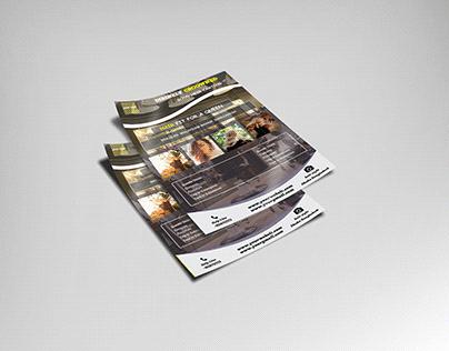 a4 size flyer