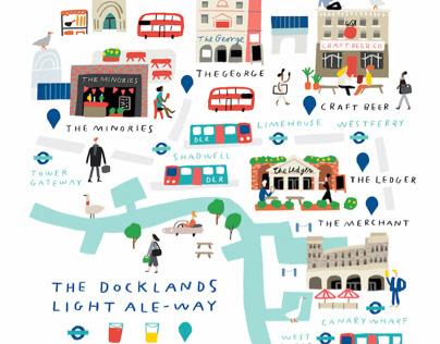 Londonist Drinks (Docklands Ale Way)