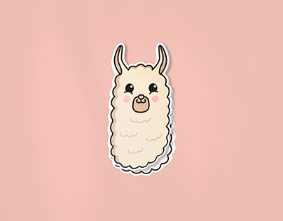 Sticky Lama sticker store