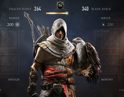 Assassin's Creed Odyssey Concept UI Screen