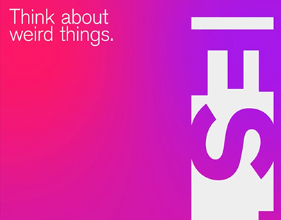 Think About Weird Things - Exhibition Poster
