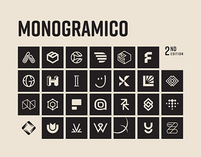 Monogramico Vol. 2 - Logo alphabet monogram project