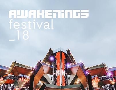 Awakenings Festival 2018 Trailer