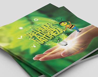 Livro Abelhudo e a Usina Natureza