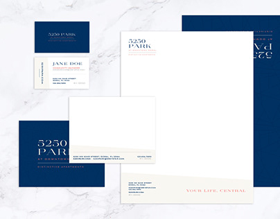 5250 Park at Downtown Doral Print Collateral
