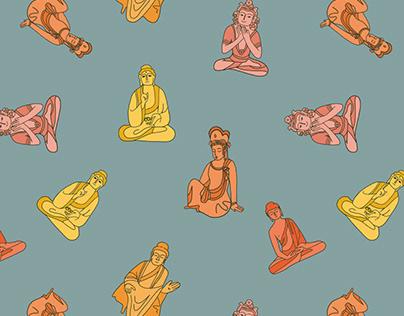 How cute a Buddha can be?