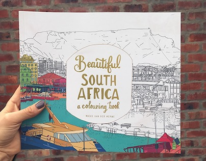 Beautiful South Africa, a colouring book