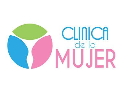 Diseño de logo, Clínica de la Mujer