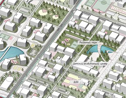 Stavropol. Concept of territory development