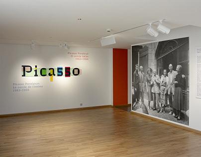 """Picasso-Perpignan"" , design d'exposition"