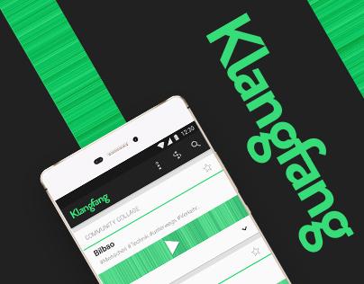 Klangfang — Mobile App