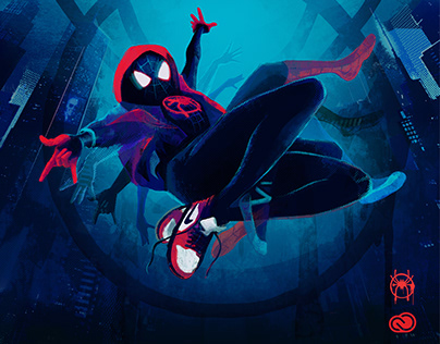 SPIDER MAN - INTO THE SPIDER VERSE