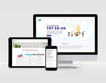 Diseño página web corporativa - EASYWEBS