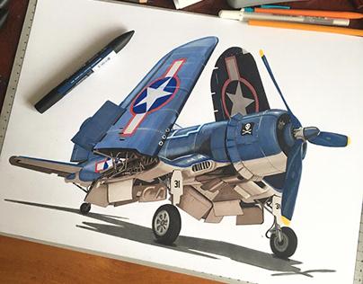 Aviation drawings II