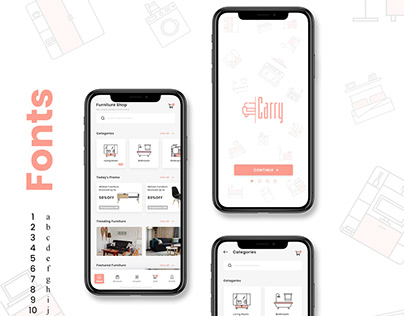 Carry - iOS Application