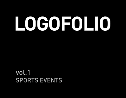 LOGOFOLIO - vol.1 SPORTS EVENTS