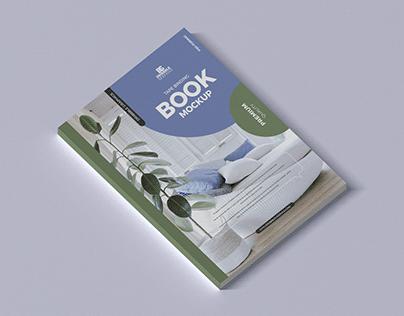 Free Tape Binding Book Mockup