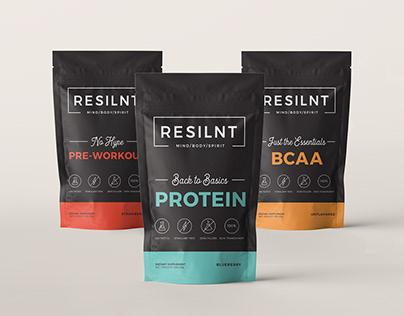 Branding & Packaging for a Supplements Start-up