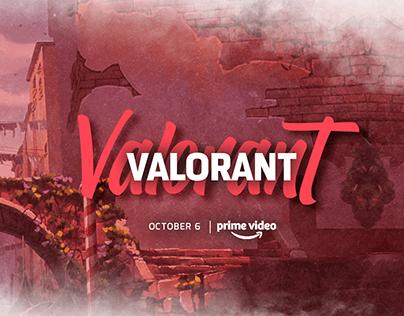 Valorant Agents | Movie Poster Design