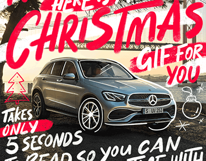 Mercedes-Benz Christmas GIF's