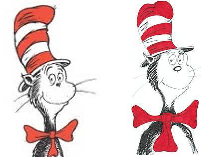 Dr Seus Illustrations