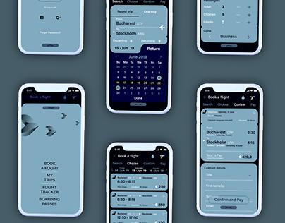 TAROM Airlines UI/UX Concept