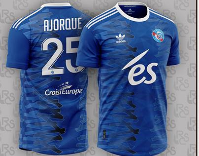 Kit concept RC Strasbourg Ajorque adidas foot soccer
