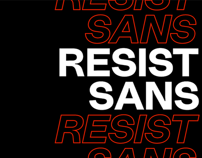 RESIST SANS - FREE NEO GROTESQUE FONTS