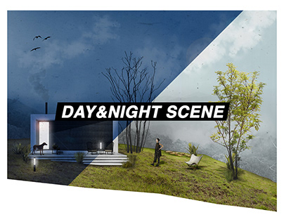 DAY AND NIGHT Post-production video made in Photoshop