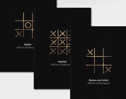 William Shakespeare book covers