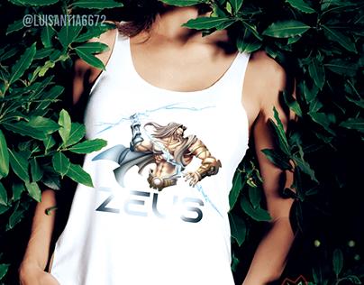 T-shirt: Zeus