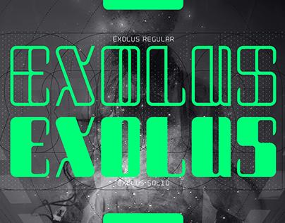 Exolus Typeface