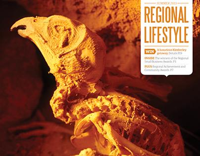 Regional Lifestyle magazine redesign