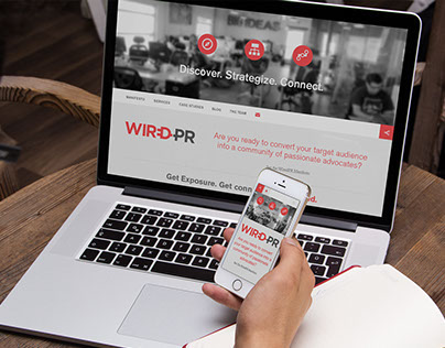 Wired PR Group Website
