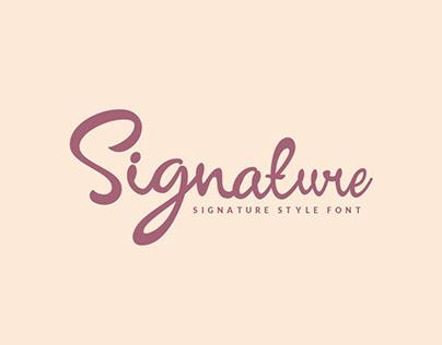 New!!! Signature Script