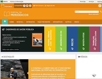 Portal de Periódicos da Fiocruz