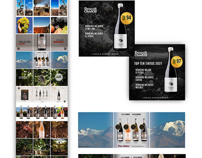EH Wines. Design & Brand Management