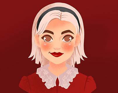 Chilling Adventures of Sabrina Illustration