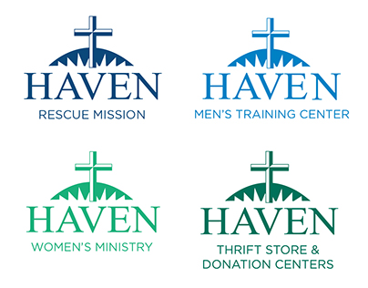 """Haven of Rest Ministries """"Refreshed"""" Branding"""